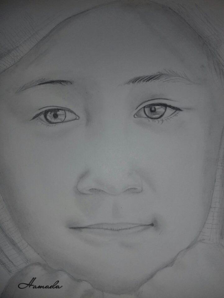 Photo of البراءة / الرسام الصغير حمادة عثمان
