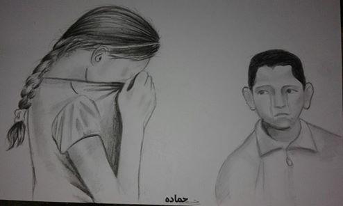 Photo of إصبروا يا أطفال فلسطين، سوريا، العراق، اليمن، بورما… / الرسام الصغير حمادة عثمان